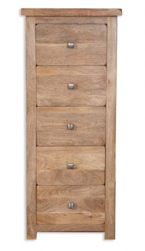 Odisha Mango 5 Drawer Tall Chest
